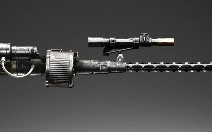 3D design RT-97C Heavy Blaster #StarWars #Blasters (WH) | Tinkercad